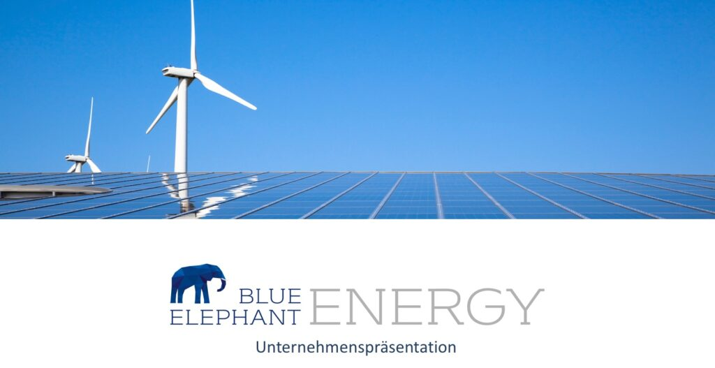 solar pv blue energy
