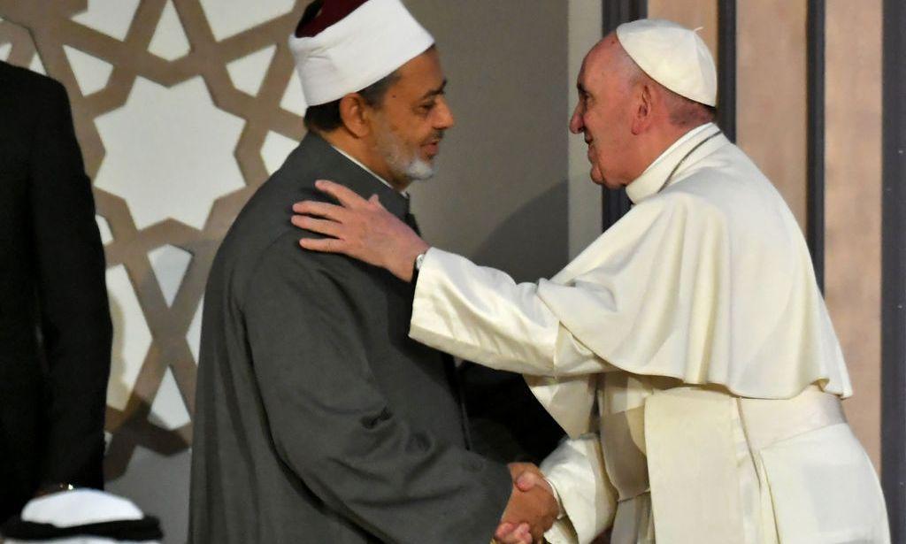 papa francesco Sheikh Ahmed al Tayeb 1024x615 1