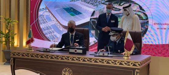 italia qatar cooperazione polizia