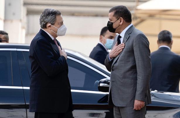 italia libia draghi dbeibah