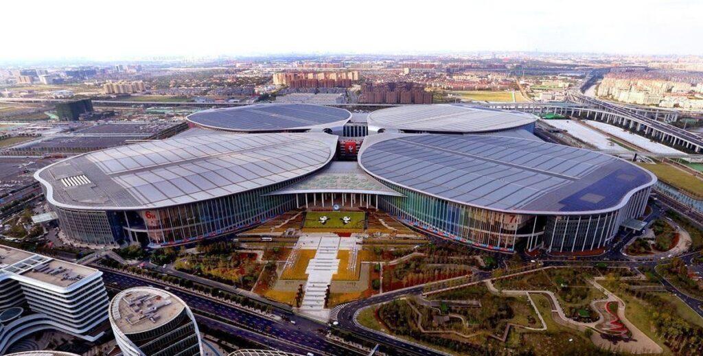 exhibition center shanghai cina