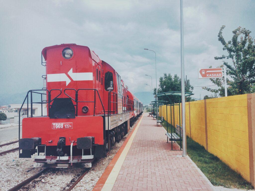 Albanian Railways T 669 Locomotive