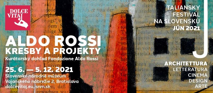 Aldo Rossi: copertina mostra al museo nazionale slovacco