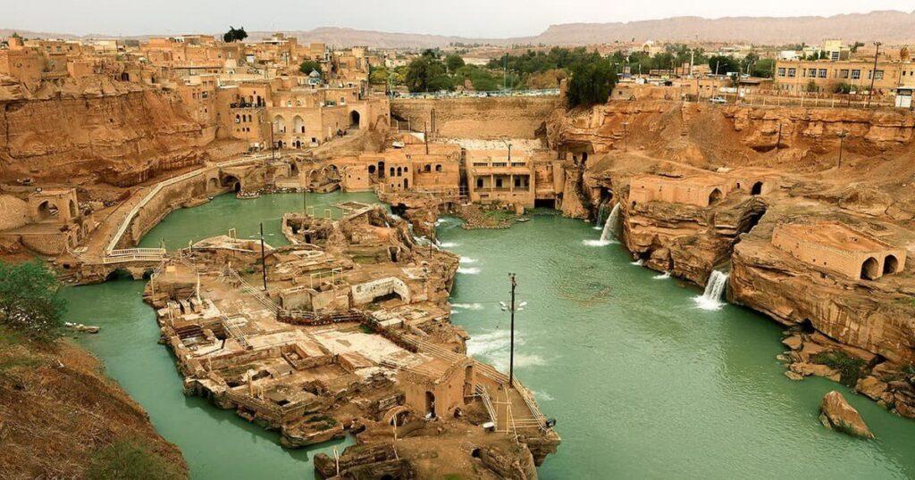 Khuzestan Le Strutture acquatiche Di Shushtar 3 min