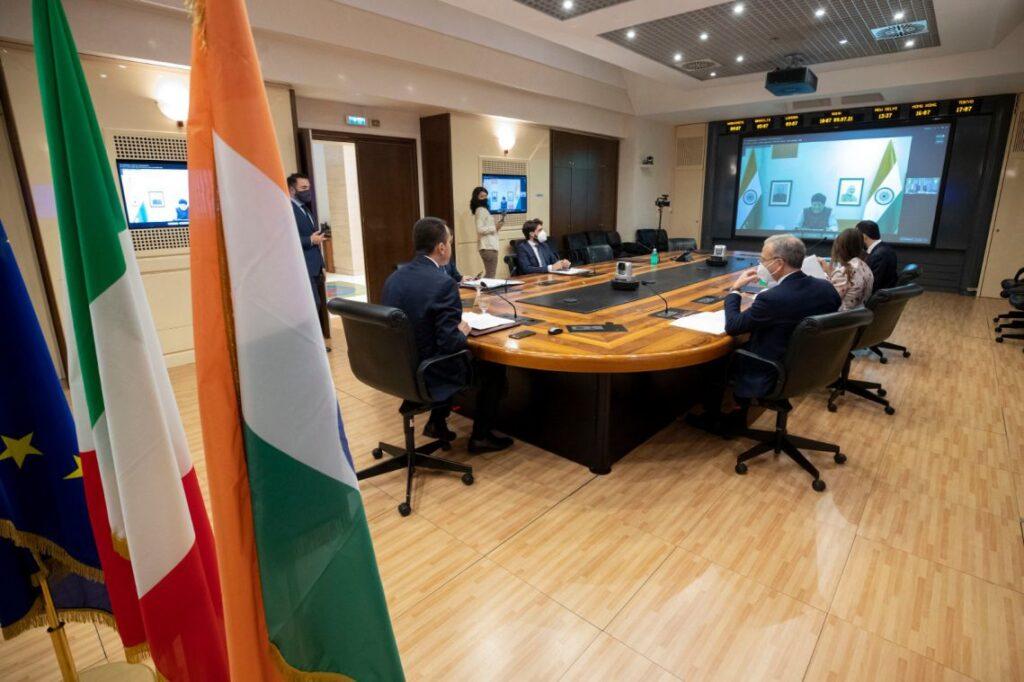 La riunione della Commissione Mista Economica Italia-India