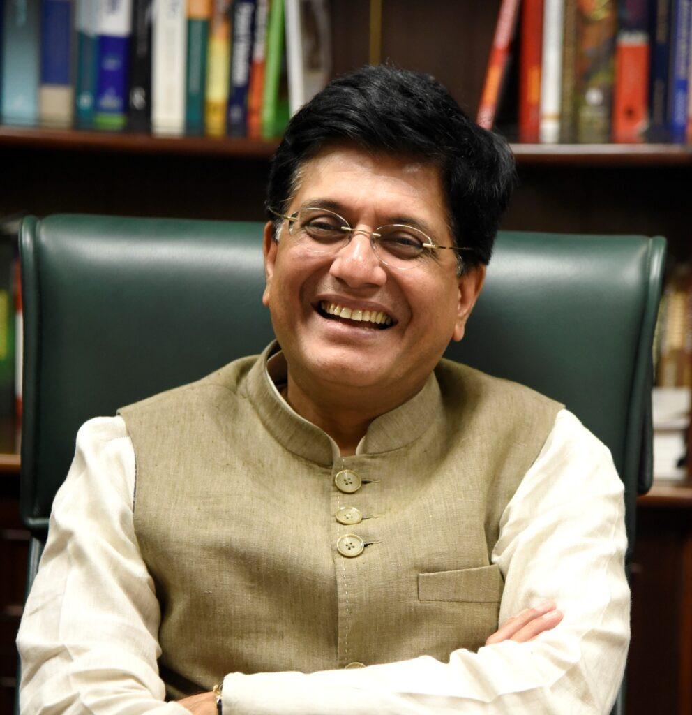 Il Ministro del Commercio e dell'Industria indiano Piyush Goyal