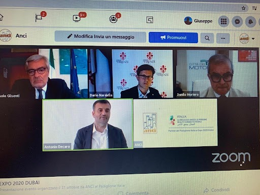 Online conference to present the event by ANCI