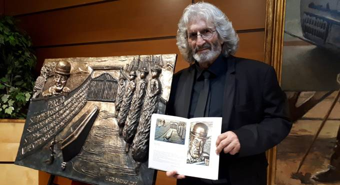 Ignazio Colagrossi, one of the artists of Pace e Amore