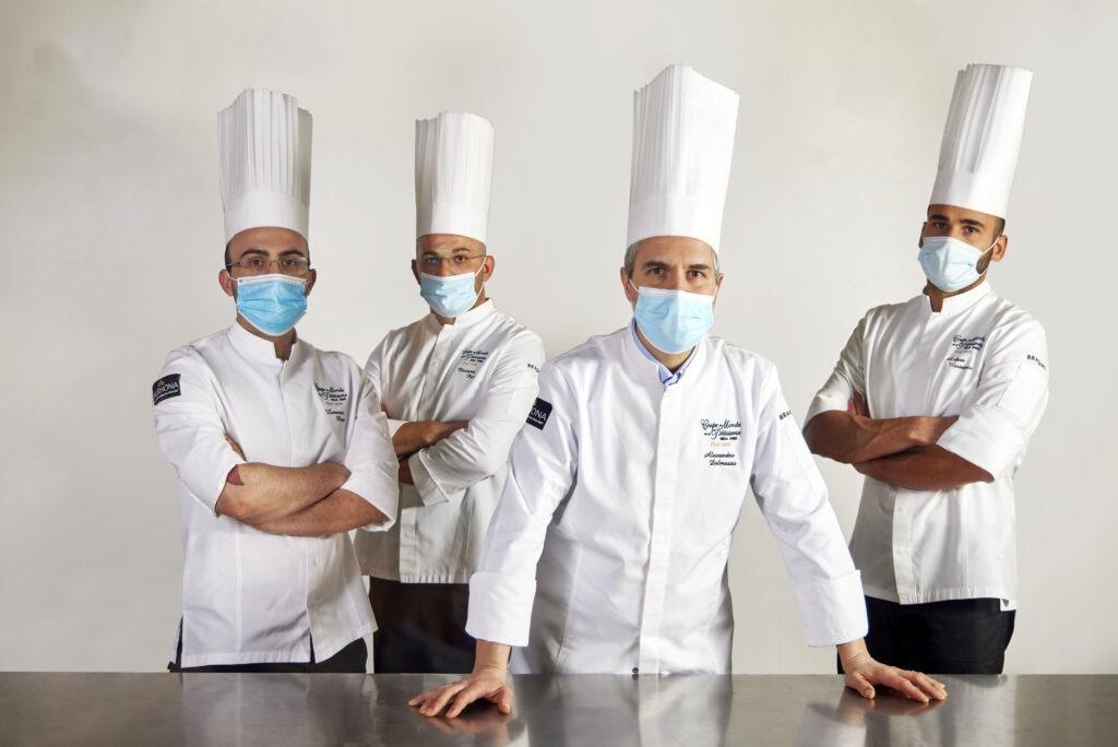 La squadra italiana vincitrice della coppa del mondo di pasticceria