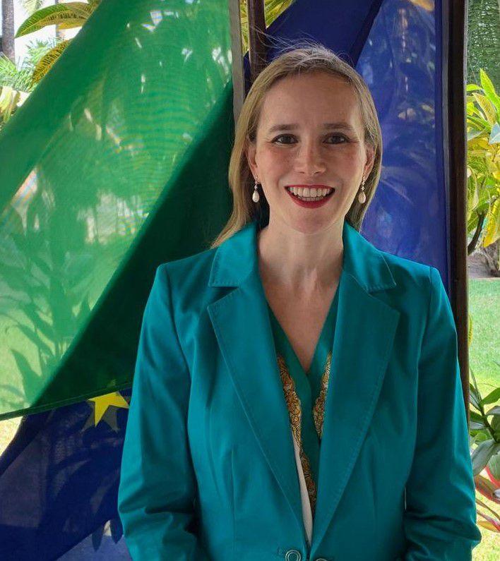 Daniela d'Orlandi, Ambasciatrice italiana in Ghana all'evento di Andersen sull'agribusiness