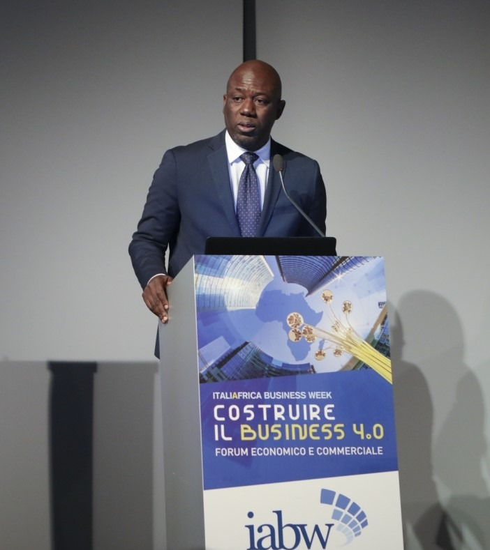 Cleophas Adrien Dioma, Executive President of Italy-Africa Business Week