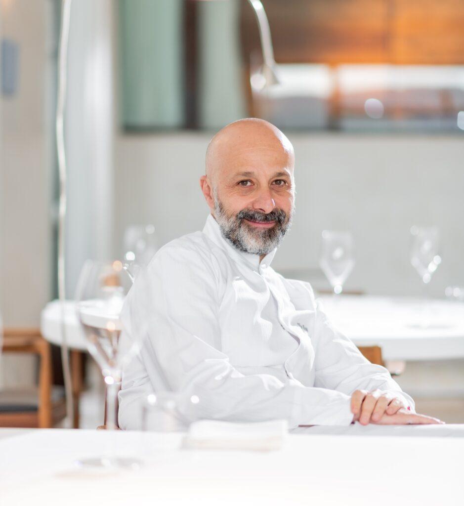 Lo chef stellato Niko Romito, che parteciperà a Expo 2020 Dubai