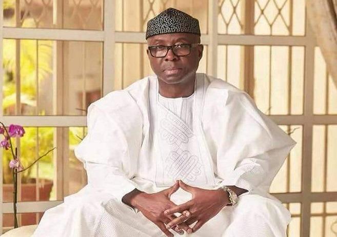 Otunba Adeniyi Adebayo, Ministro delle Infrastrutture, del Commercio e degli Investimenti della Nigeria, all'evento di Andersen sull'agricoltura