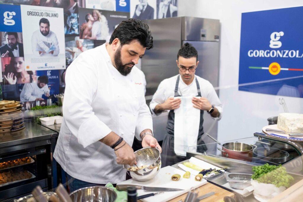Lo chef Antonino Cannavacciuolo a TuttoFood 2019