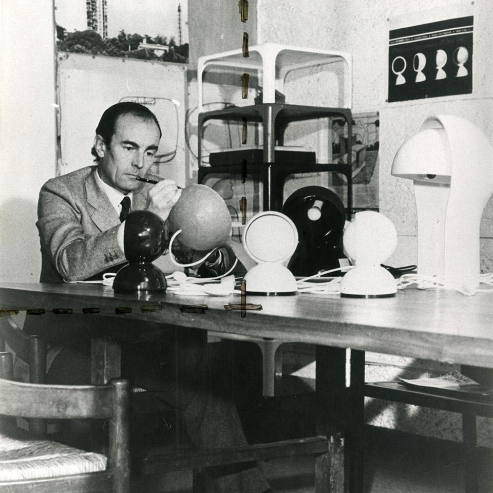 Italian designer Vico Magistretti